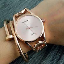 0638535e5b5 2016 Novo Relogio feminino Luxo Mulheres Relógio Contena Famosa Marca  Senhoras Designer de Moda Exclusivo das Mulheres Pulseira Relógios(China  (Mainland))