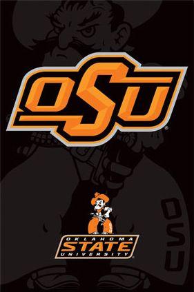Oklahoma State University Cowboys Official Ncaa Team Logo