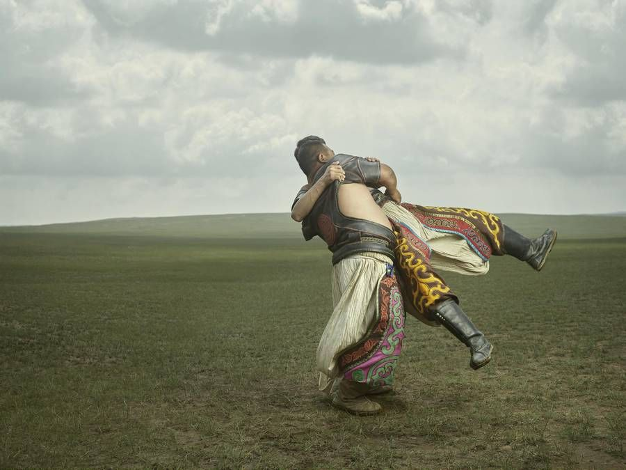 Portraits of Mongolian Wrestlers by Ken Hermann and Gem Fletcher — 5 things I learned today