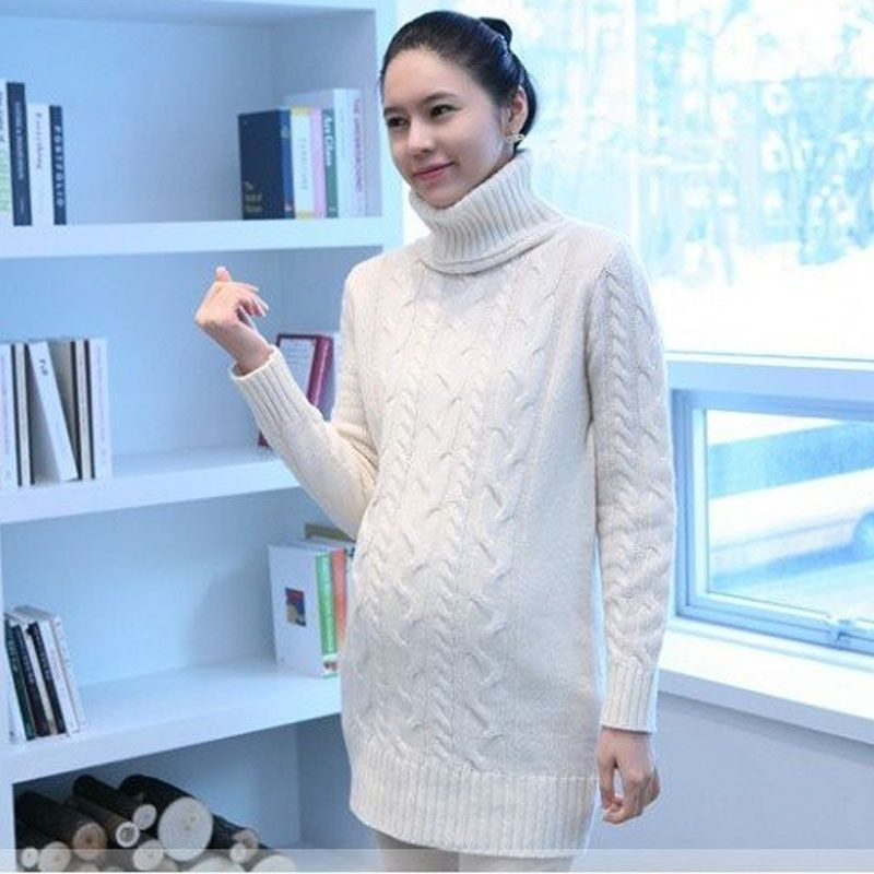5038f6d19f7d0 Maternity sweaters women heap turtleneck sweaters maternity clothing autumn-winter  women sweaters pregnant maternity clothes