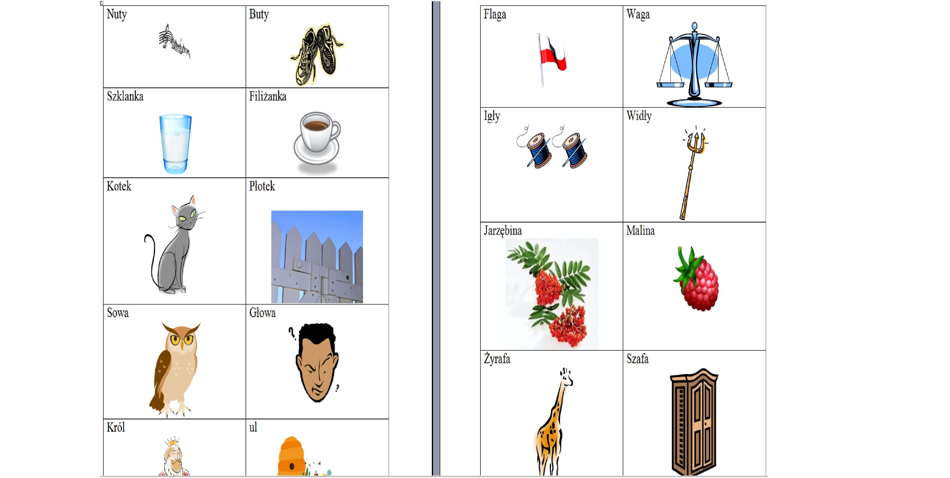Rymowanki Obrazkowe Moje Dzieci Kreatywnie