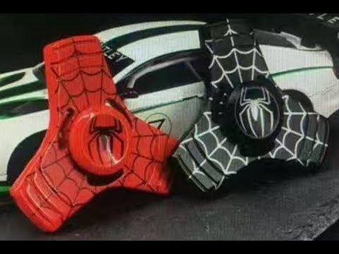 Awesome Rare Fid Spinners Spider Man Batman Iron Man Superman