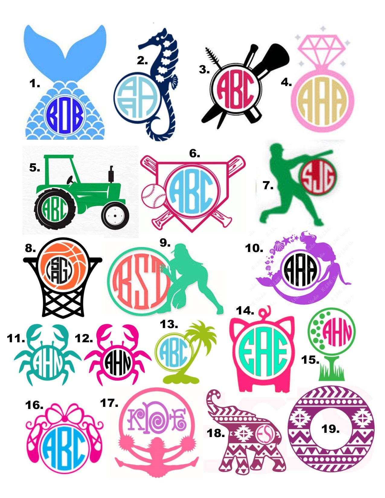 Monogram Decal // Yeti Cup Decal // Vinyl Decal Yeti Cup ...