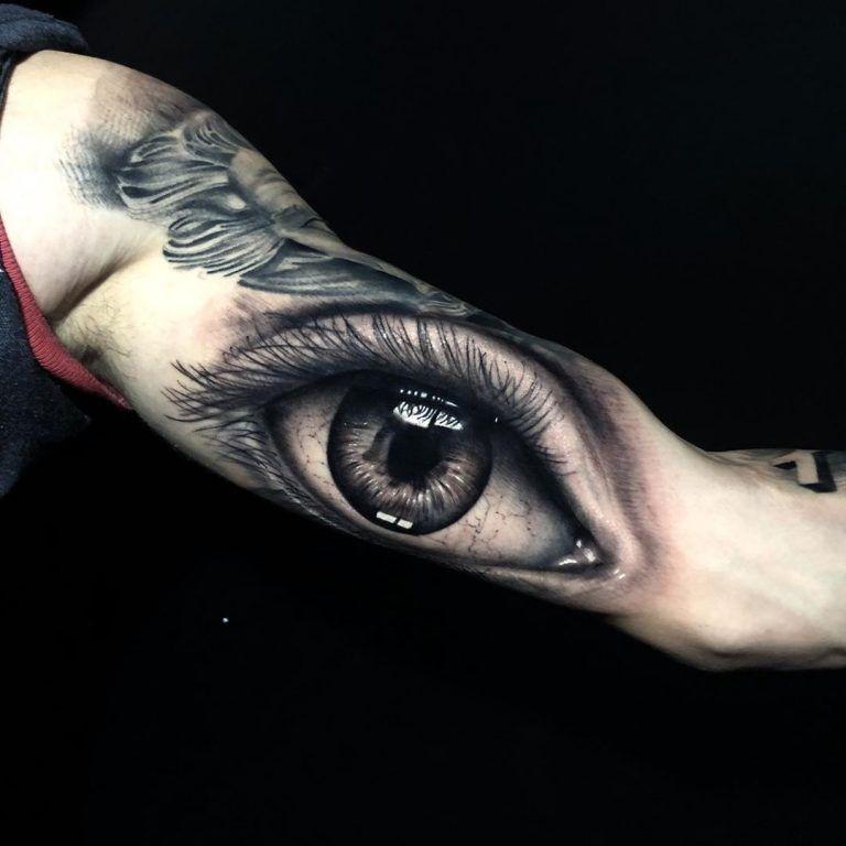 [50 Фото] Татуировка Глаз для Мужчин и Женщин   Татуировки