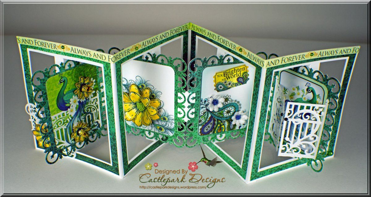 By Request Accordion Fold Card Fancy Fold Cards Accordion Cards Heartfelt Creations Cards