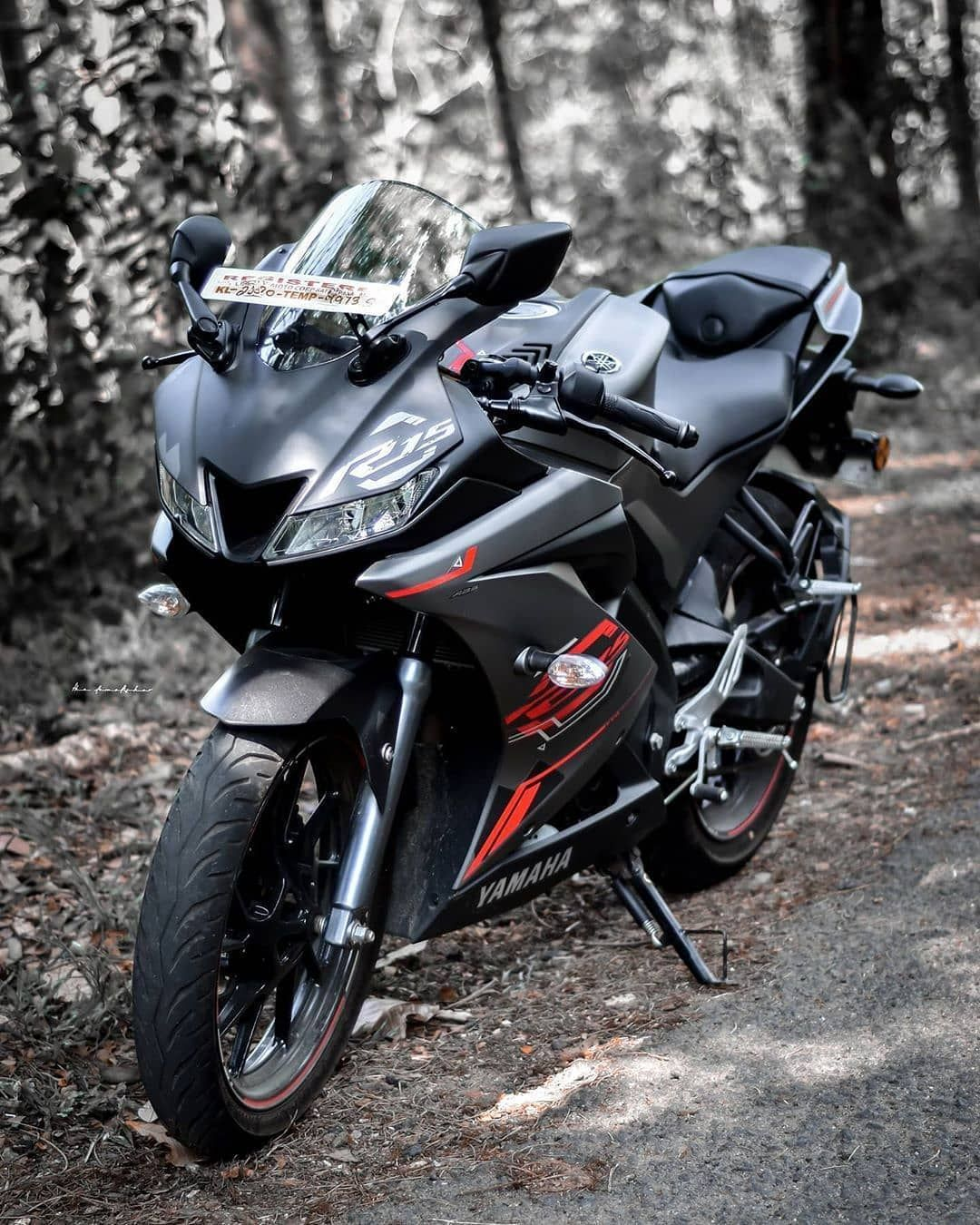 2 655 Likes 4 Comments R15 V3 India R15v3ind On Instagram Thunder Grey The Bae The Demolishor Motorcycle Wallpaper Bike Pic Yamaha Bikes
