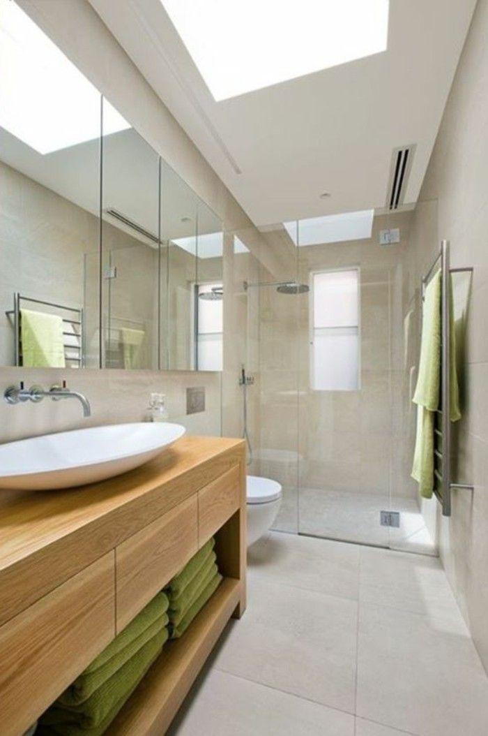 La salle de bain avec douche italienne 53 photos salle for Meuble salle de bain douche italienne