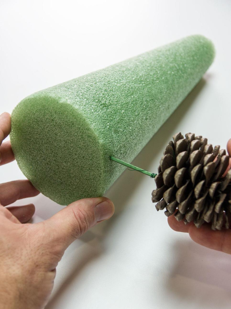 Pine Cone Tree Craft | Pine cone tree, Cone trees and ...