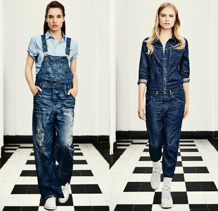 b0a72e69b533 G-Star RAW Amsterdam 2016 Spring Summer Womens Lookbook - Raw Dry Vintage  Selvedge Denim