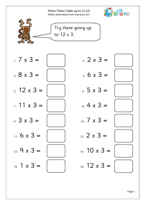 Times Tables Worksheets Times Tables Worksheets Maths Times Tables Kids Math Worksheets In 2021 Times Tables Worksheets Maths Times Tables Kids Math Worksheets