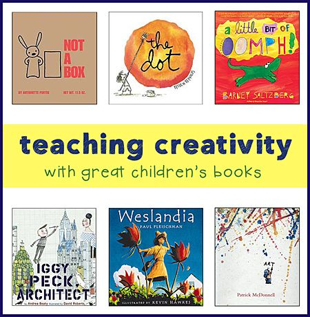 childrens books for teaching creativity and thinking outside the box