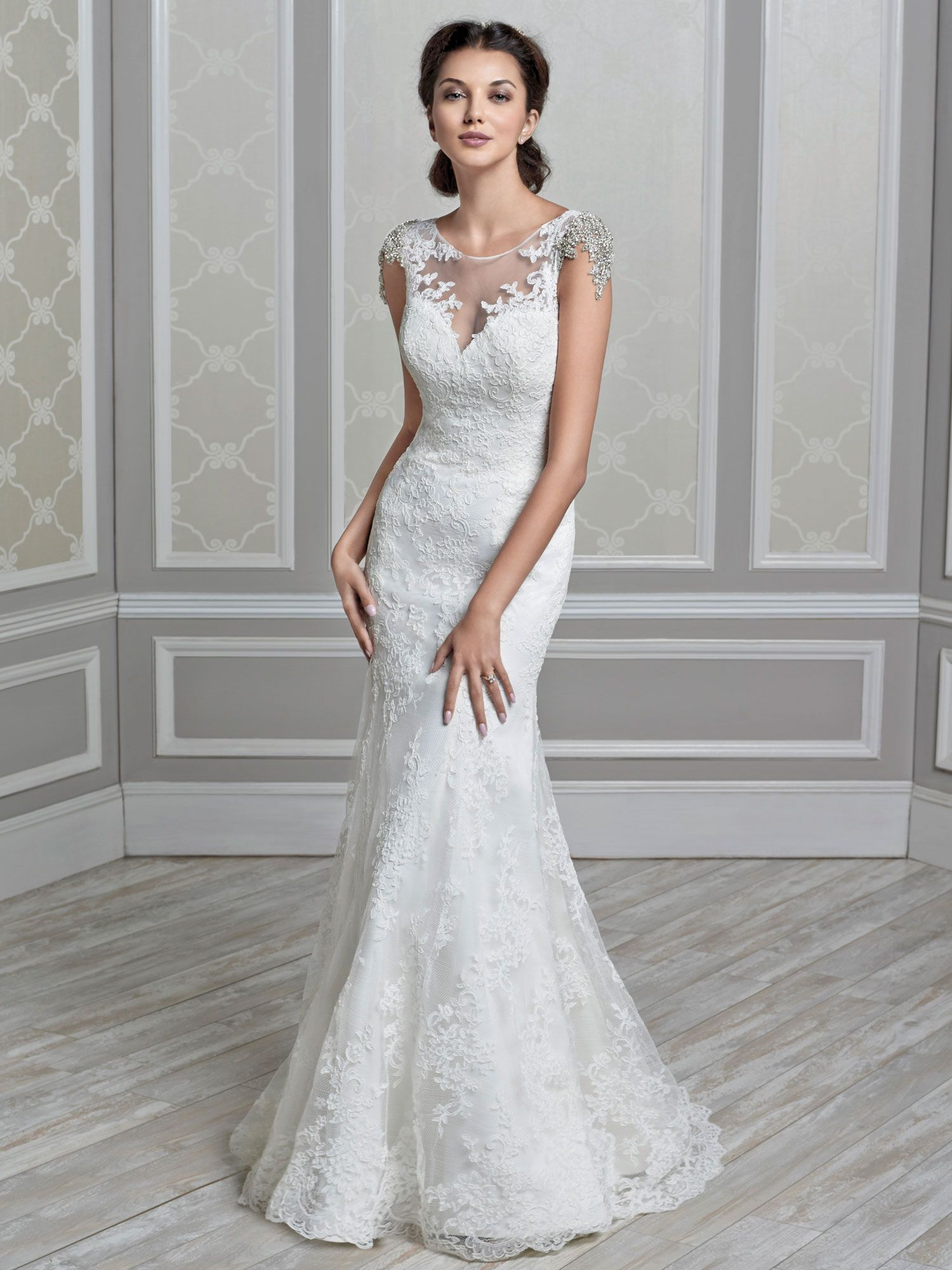 Kenneth Winston   Inspired by Roman royalty, this sheath like fit ...