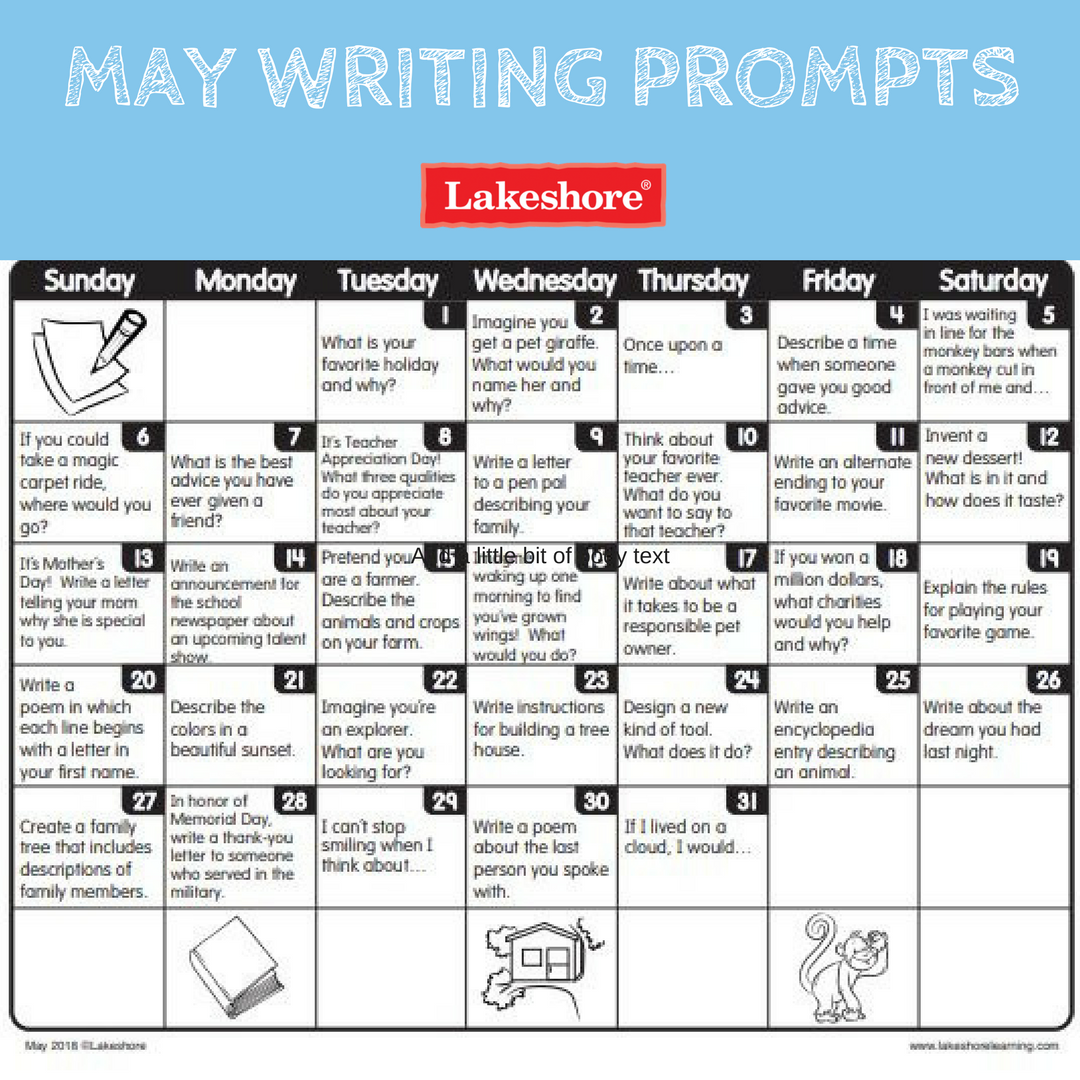 It S Almost May And That Means Next Month S Writing Prompts Are Here Download Them Today Writing Prompts For Kids Homeschool Writing Picture Writing Prompts [ 1080 x 1080 Pixel ]