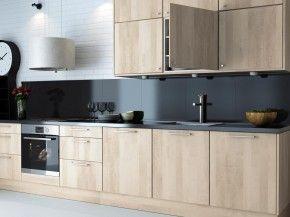 Achterwand Modern Keuken : Moderne keuken met donkere achterwand voor wie wel eens iets
