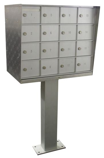 Bommer Cluster Mailboxes 16 Doors Type 3 - Private Mail | Cluster ...