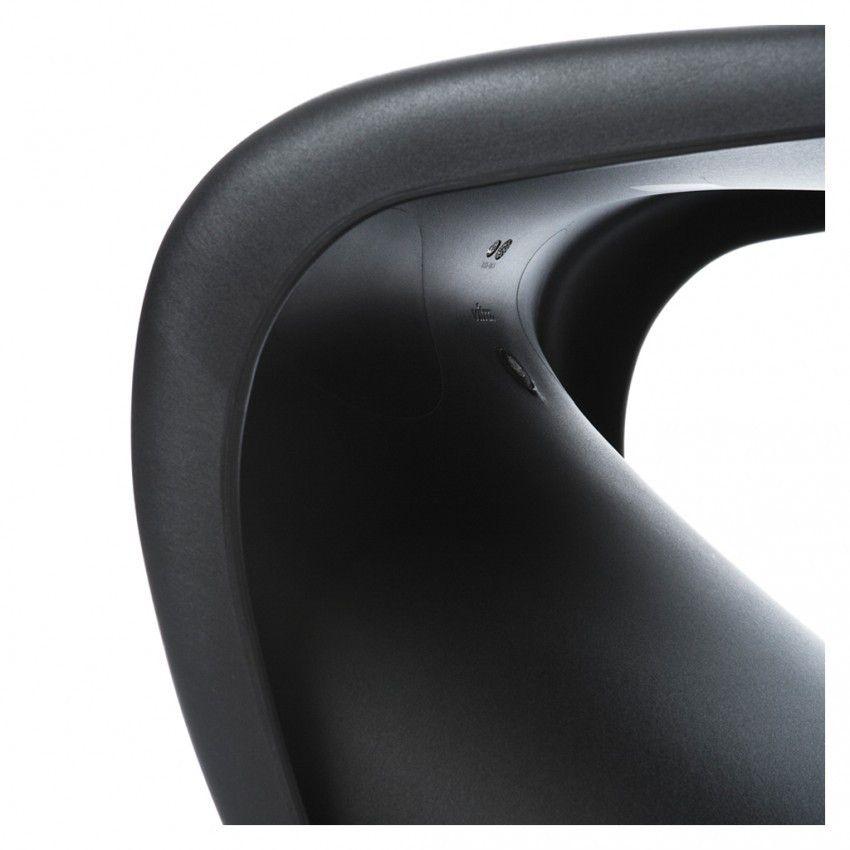 Chaise Panton Noire Vitra