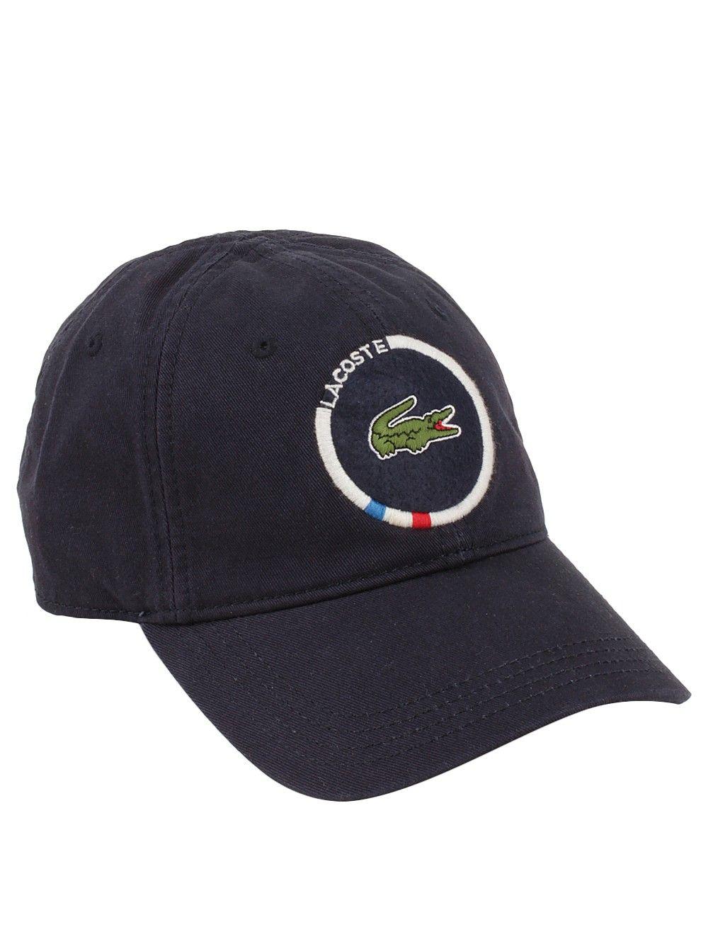 dbd042b556f Lacoste® Men s Croc Patch Cap in Navy Blue Lacoste Men