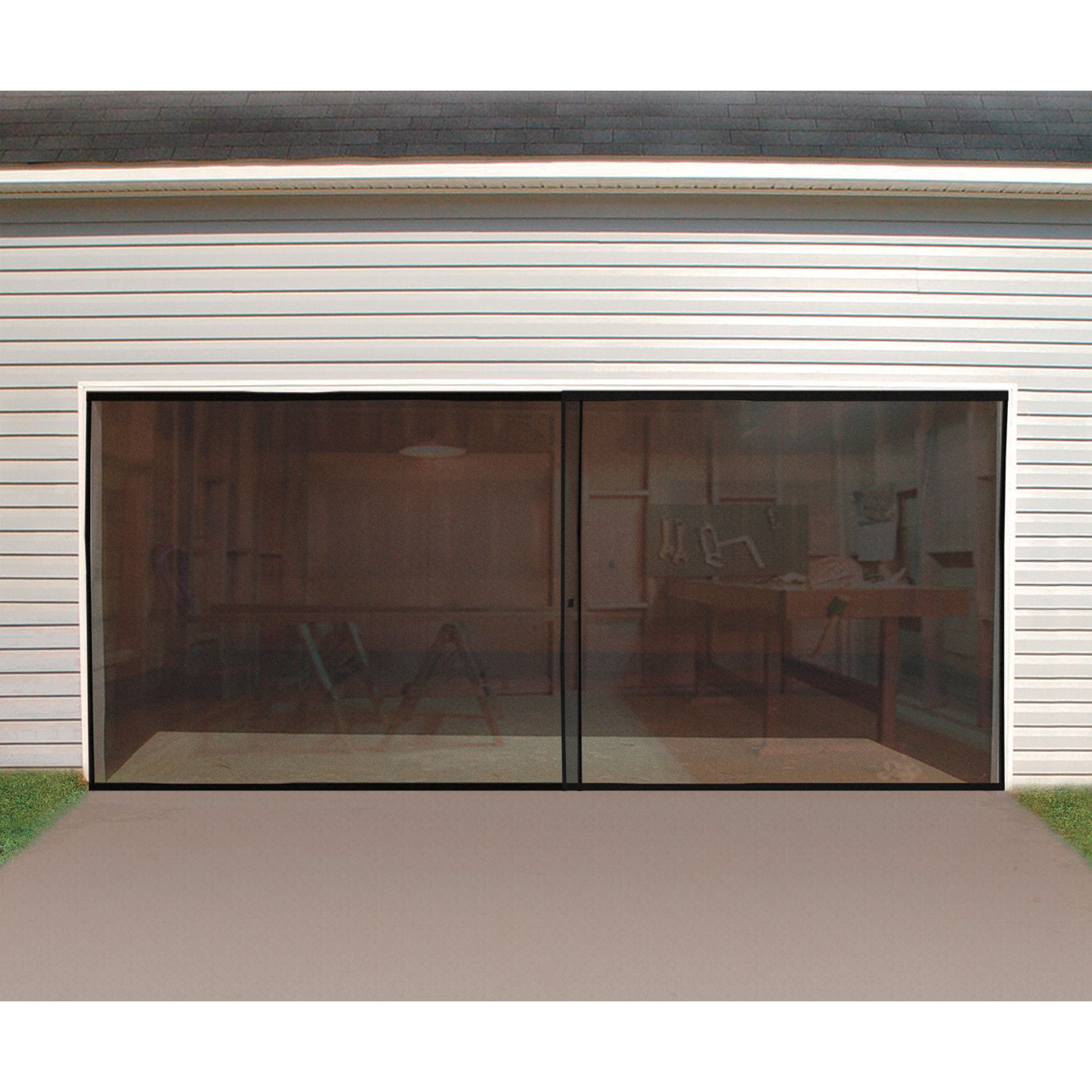 Double Garage Door Keeps The Bugs Out Of Your Garage Www Kotulas Com Free Shipping 29 Garage Decor Garage Door Design Garage Screen Door