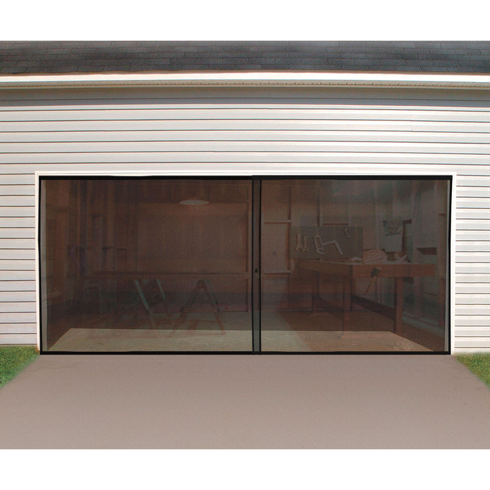 Double Garage Door Keeps The Bugs Out Of Your Garage Www Kotulas Com Free Shipping 29 Garage Decor Garage Door Design Garage Screen Door