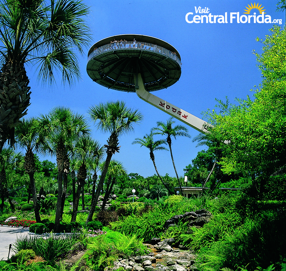 Cypress Gardens Island in the Sky- Winter Haven, Florida, Historic ...