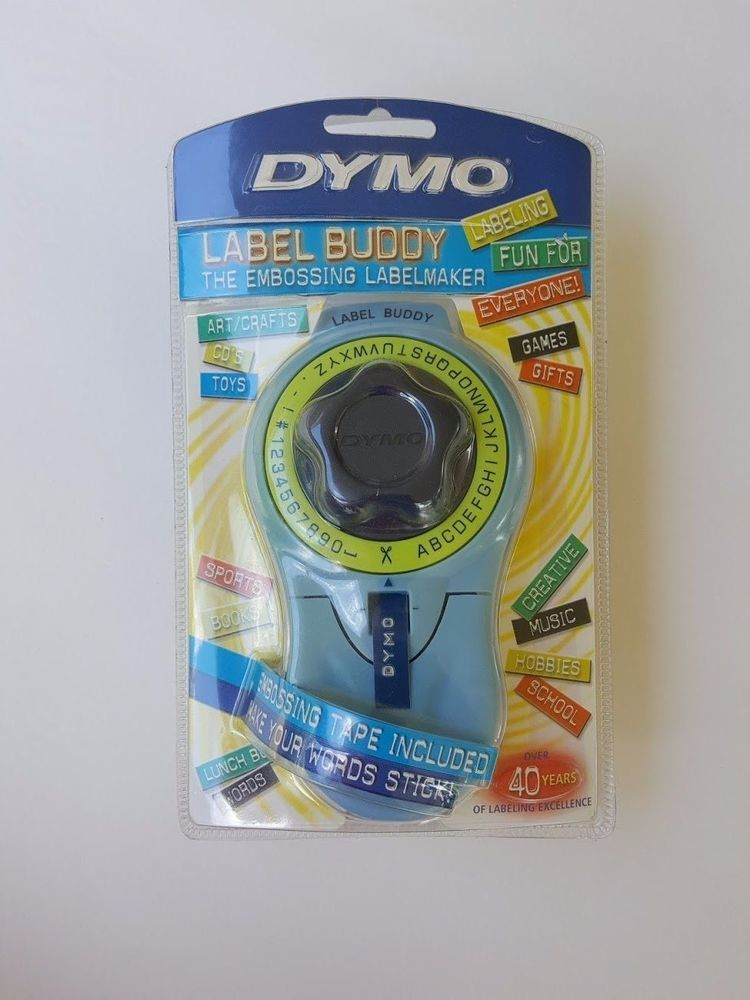 DYMO Label Buddy Embossing Labelmaker NIB Free Shipping! Great - free shipping label maker