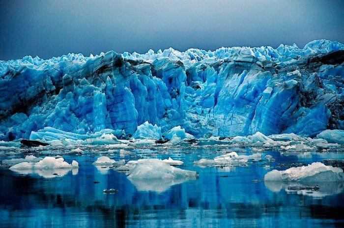 Fiordo Eyre - Glaciar Pío XI - Chile. Foto de Tino Soriano