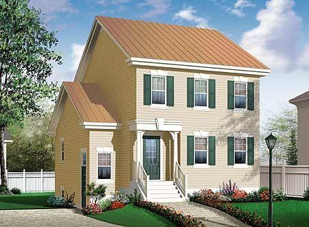 Plan 21892dr In Law Suite Or Rental Unit Basement House Plans Country Style House Plans House Plans