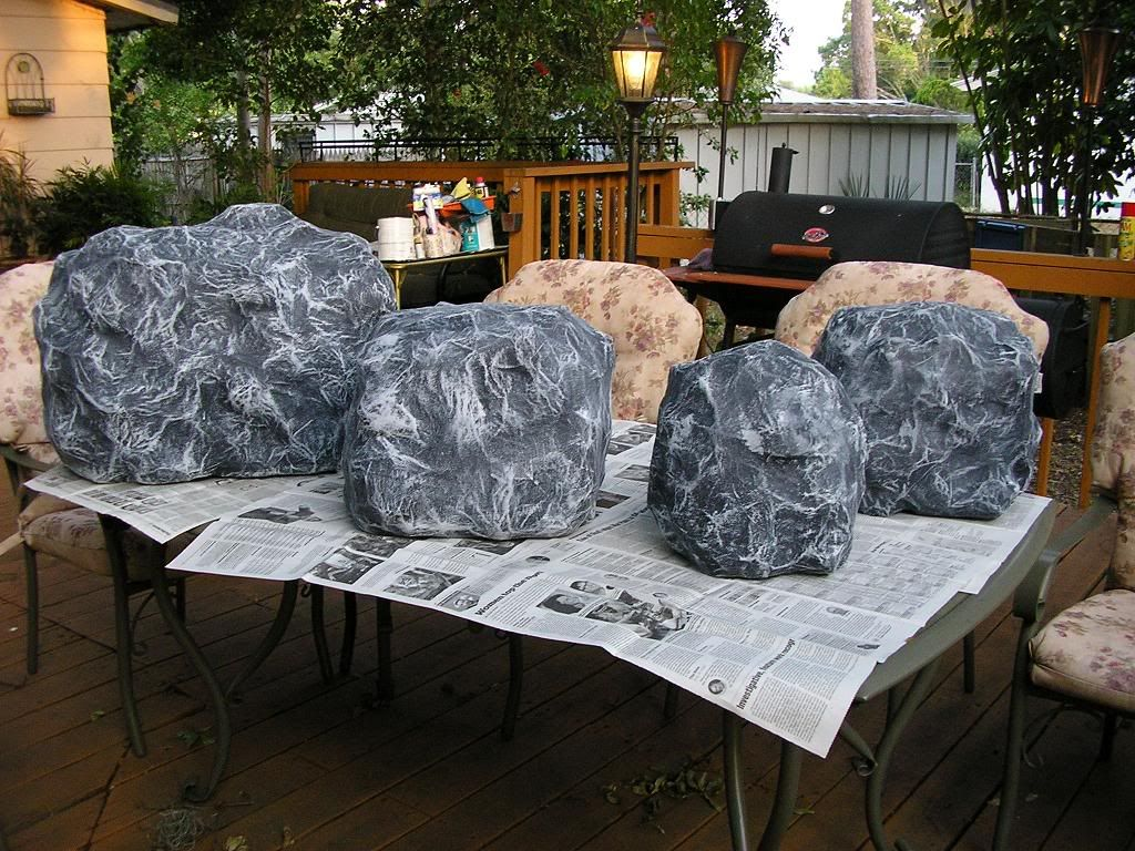 Paper Mache Rocks For Our Campfire Cmykittens