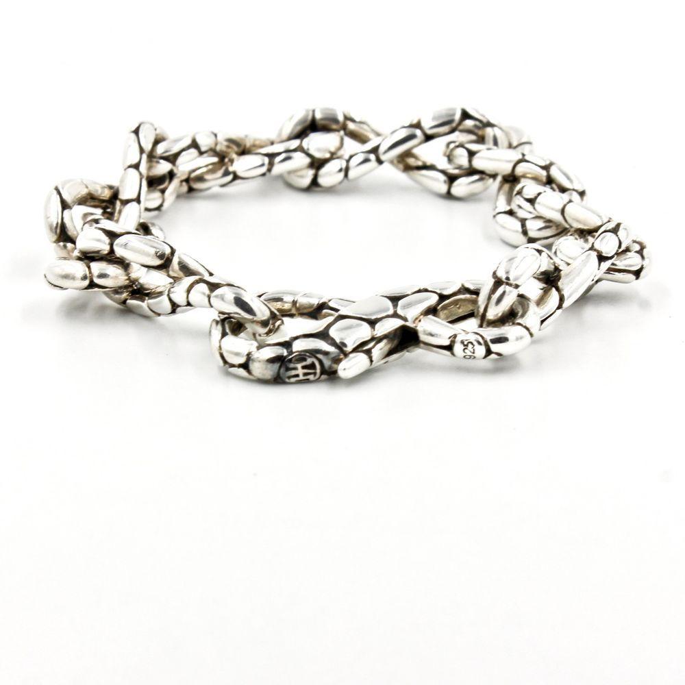 3153cab576dc John Hardy Kali Twist Link Chain Bracelet in Sterling Silver 8