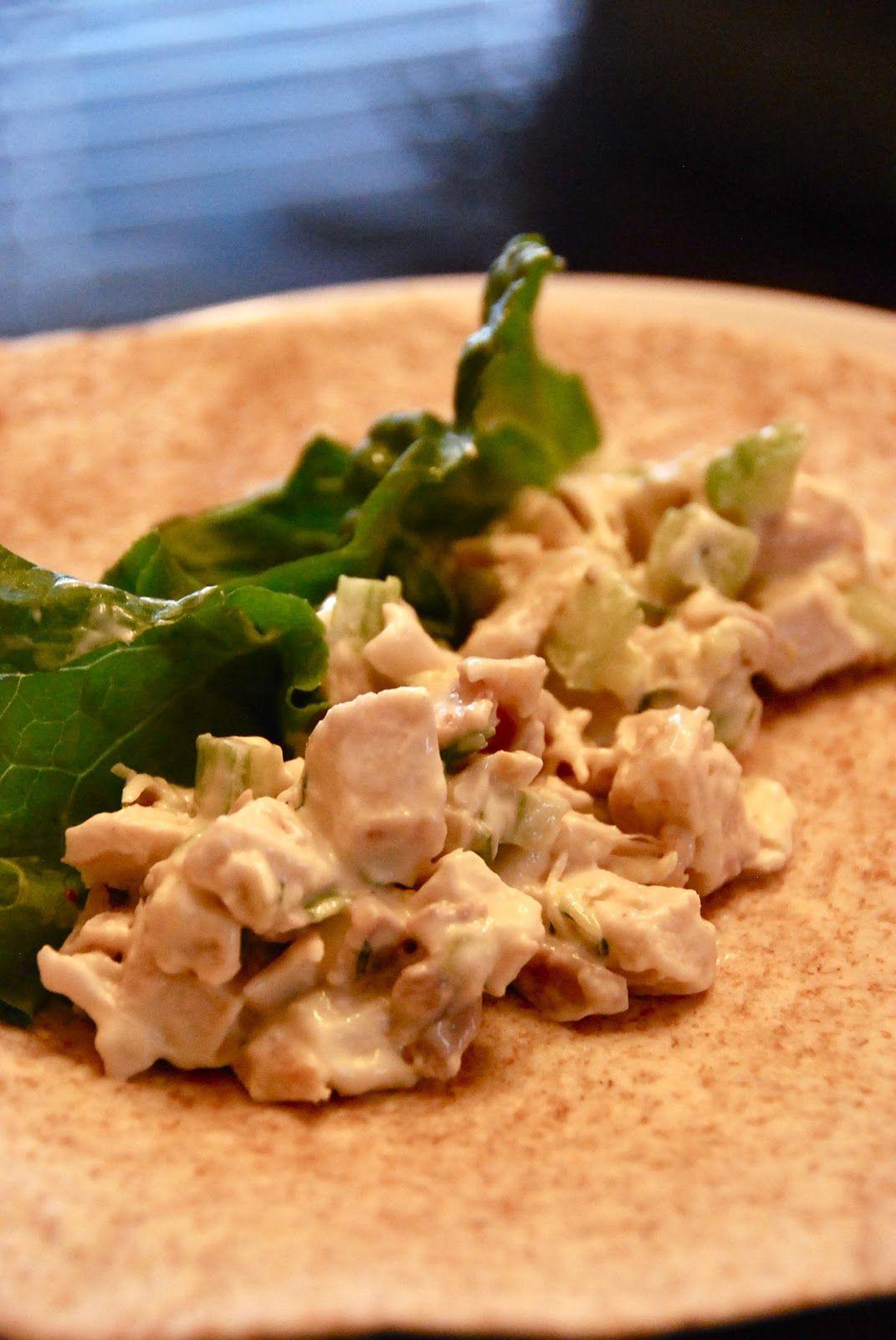 Light Chicken Salad Chicken salad, Salad, Easy meals