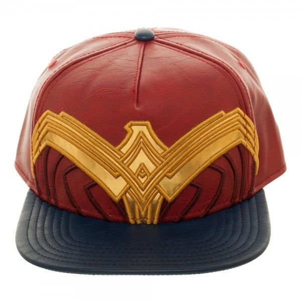 Wonder Woman Suit Up Applique Snapback front Anti Herois ee4d0bf5aba