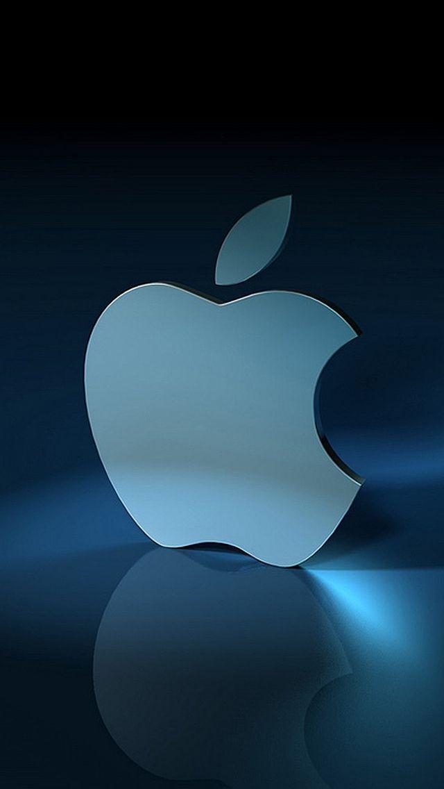 Iphone 5 Wallpaper Apple Blue Apple Wallpaper Apple Logo Wallpaper Apple Logo