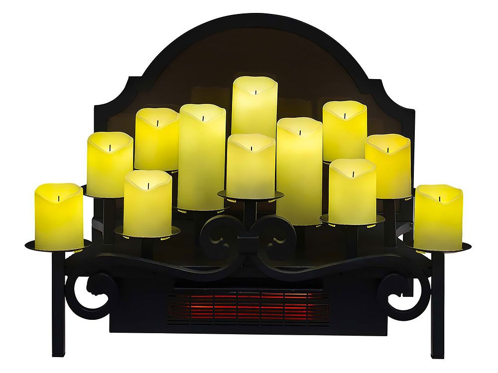 Duraflame 20 Infrared Electric Candle Holder Insert Dfi008
