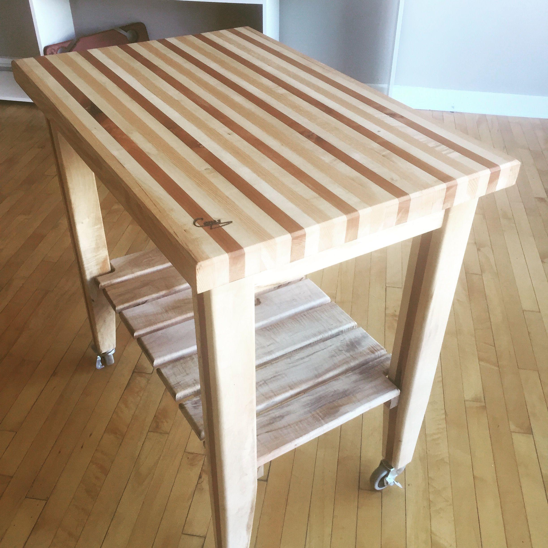 24X36 Cutting Board Top Kitchen Cart. Clevelandcuts.com