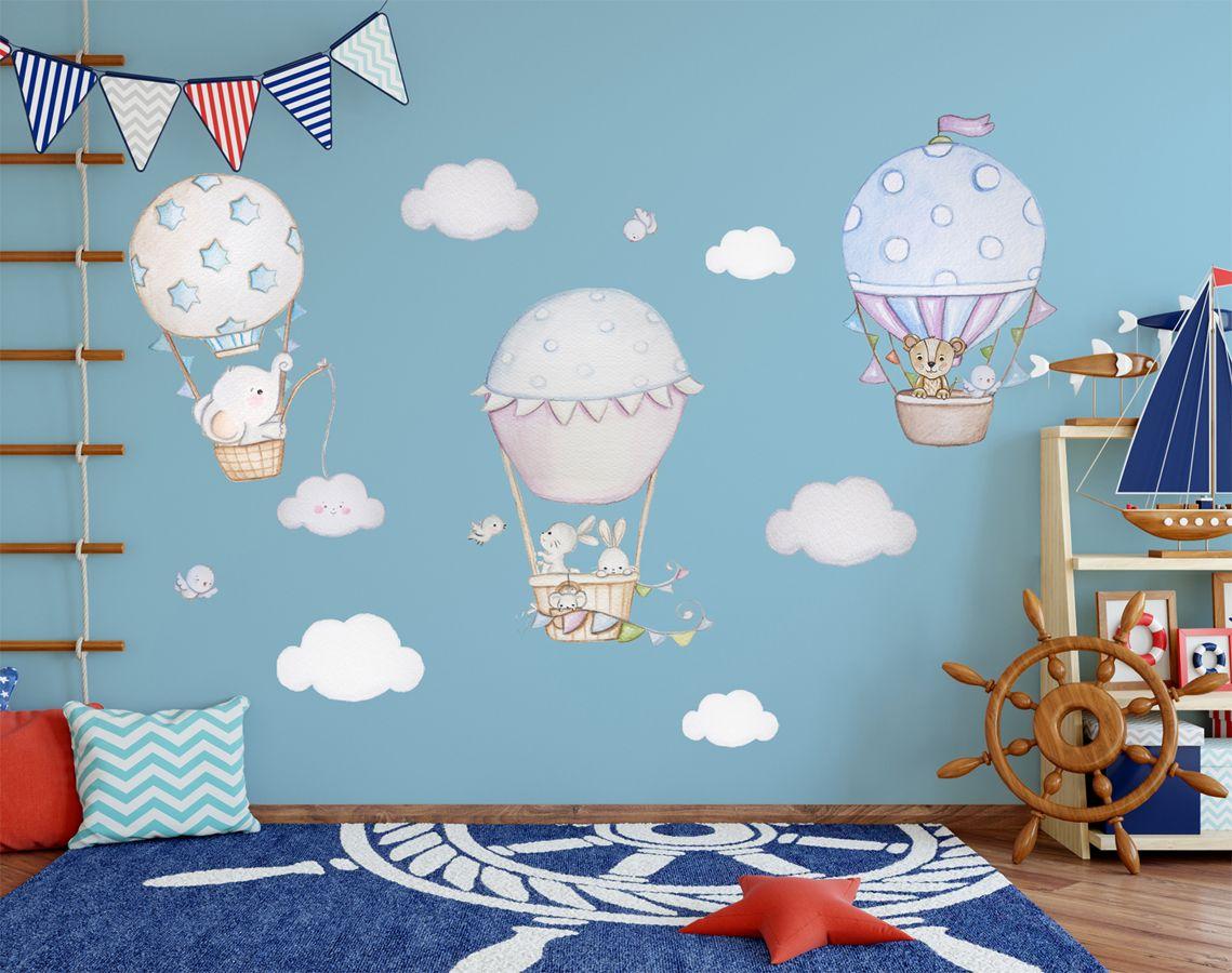 21 Babyzimmer wanddeko wolken