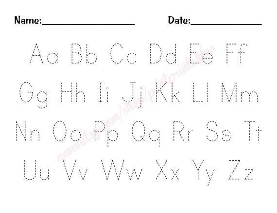 Free Printable Abc Worksheets For Preschool Preschool Alphabet Workshe Alphabet Worksheets Free Alphabet Worksheets Kindergarten Printable Alphabet Worksheets