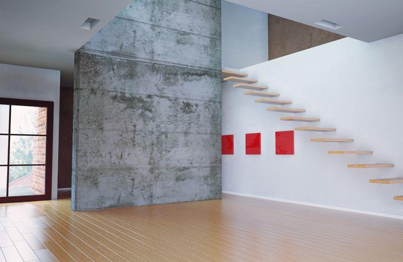 Beton We Wnetrzu Efekty Dekoracyjne Concrete Wall Home Decor Decor