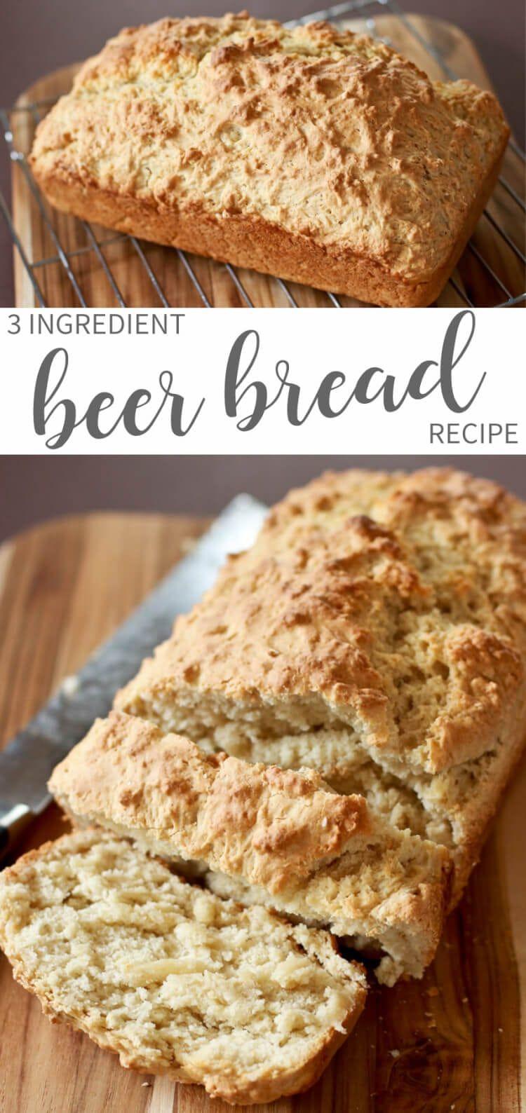 3 Ingredient Beer Bread images