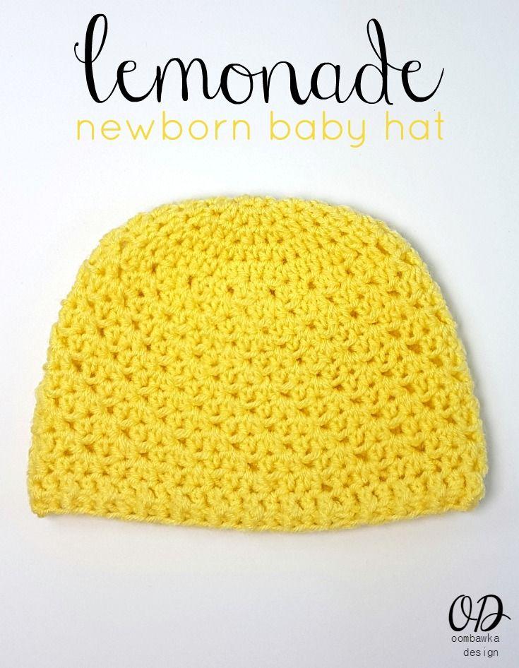 Lemonade Newborn Baby Hat Free Pattern Baby Hats Free Pattern And