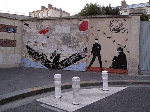 Pimax Street-art Jeff Mesnager Speedy Graffito Nemo.