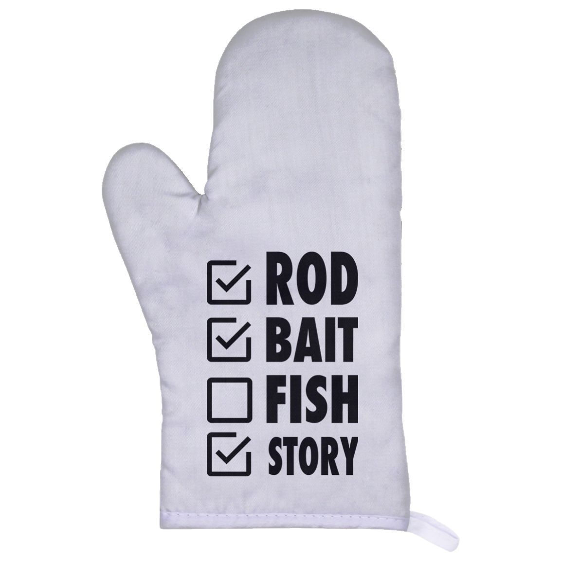 Rod Bait Fish Story Oven Mitts