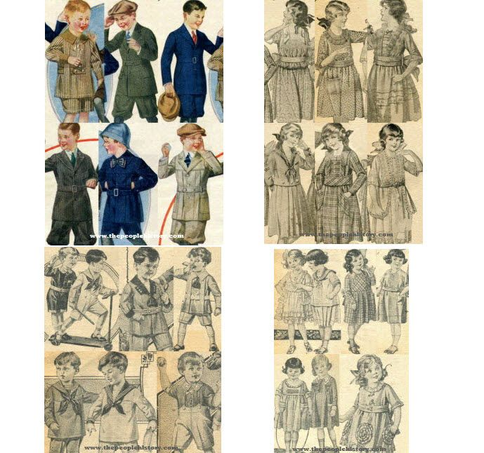 1920s Children s Fashion Part of Our Twenties Fashions Section