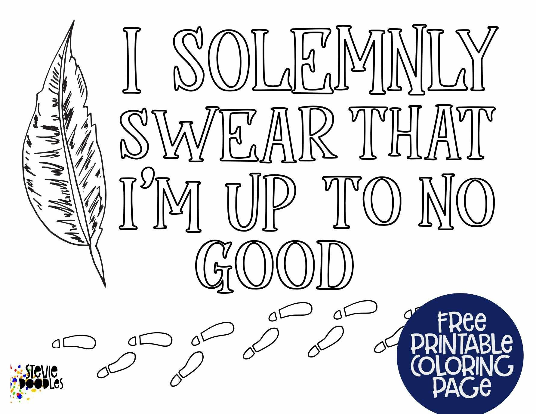 Free Printable I Solemnly Swear That I M Up To No Good Footprints Harry Potter S Free Printable Coloring Free Printable Coloring Pages Free Printables [ 1377 x 1782 Pixel ]