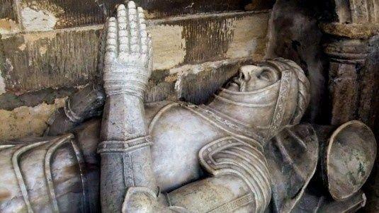 Tomb of a Knight Templar: