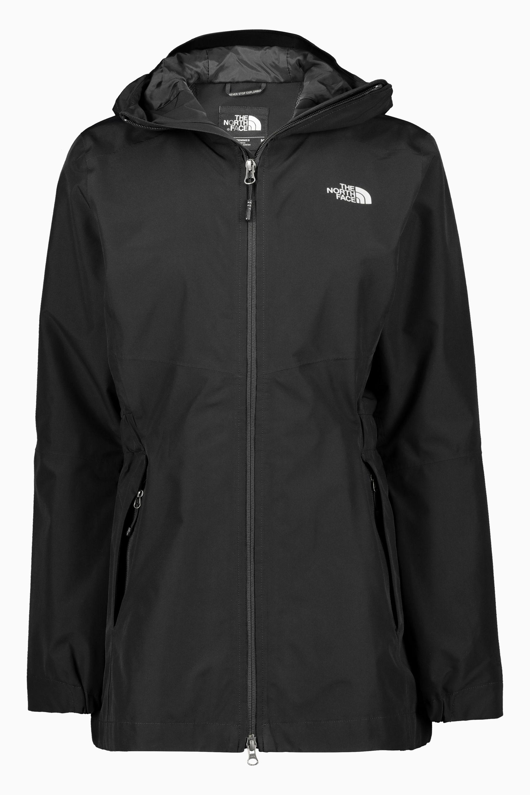 c622b6e7e Womens The North Face Black Hikesteller Parka Shell Jacket - Black ...