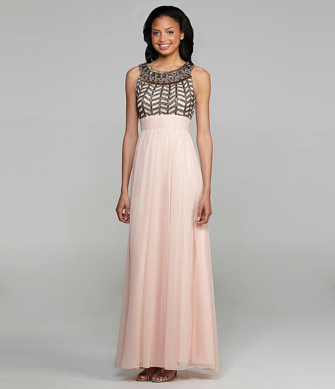Wedding dresses dillards  JS Collections Beaded Gown  Dillards  Dress up  Pinterest