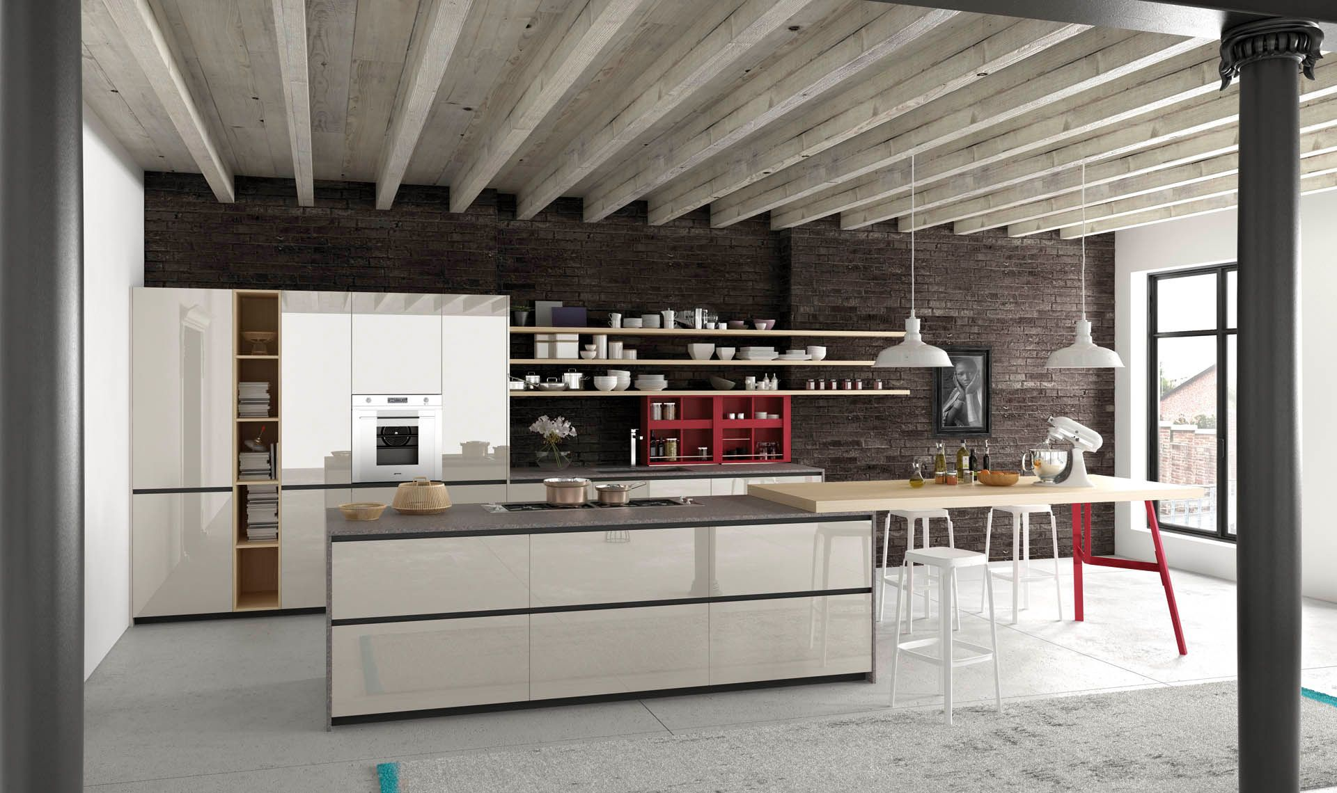 Eleganti contrasti. Il nuovo must delle cucine di design