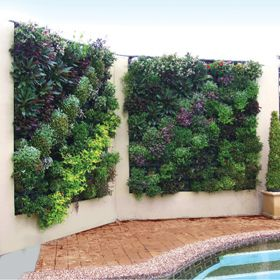 High Quality Create Lush, Beautiful Vertical Gardens, Indoor Or Outdoor With Atlantis  Gro Wall® Modules. Vertical Gardens Are Created With Ease Utilising Natural  Soil ...