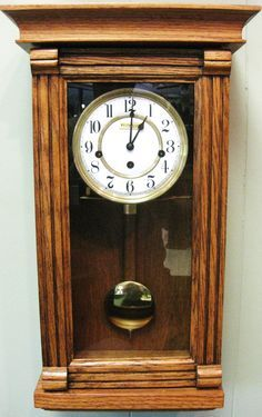 Handmade SolidOak Westminster Chime Wall Clock Wall Clocks