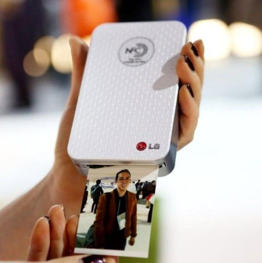 Lg S Inkless Wireless Pocket Photo Printer Photo Printer Portable Photo Printer Mobile Photo Printer